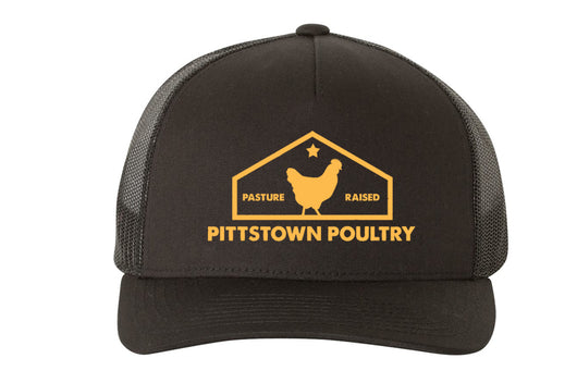 Pittstown Poultry Hat Black - Embroidered