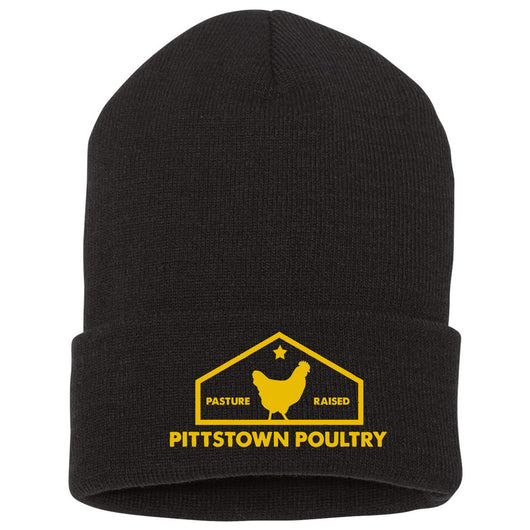 Pittstown Poultry Beanie - Embroidered