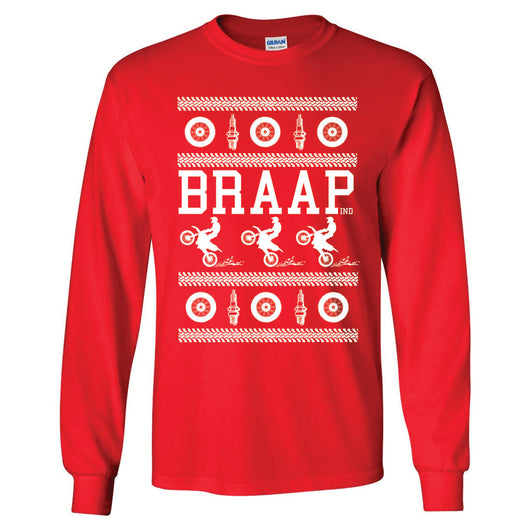 Long Sleeve Braap Red