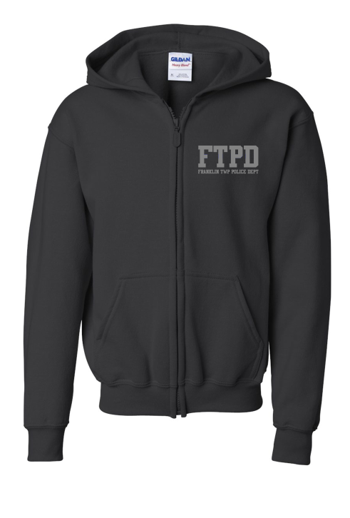 Full Zip-Up Sweatshirt