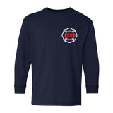 Youth Long Sleeve Shirt   (Front Imprint Only)