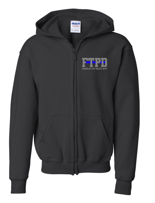 Youth Full-Zip Sweatshirt