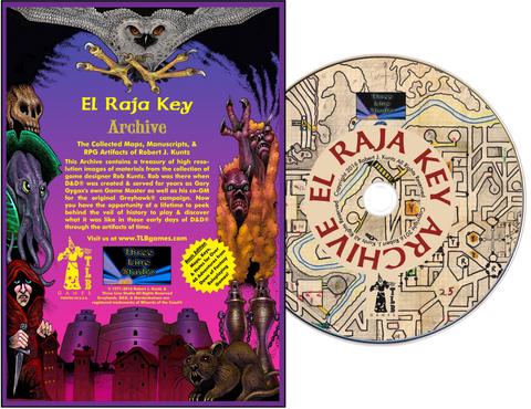 El Raja Key Archive Basic Edition - inc. K1 Sunken City Adventure Module