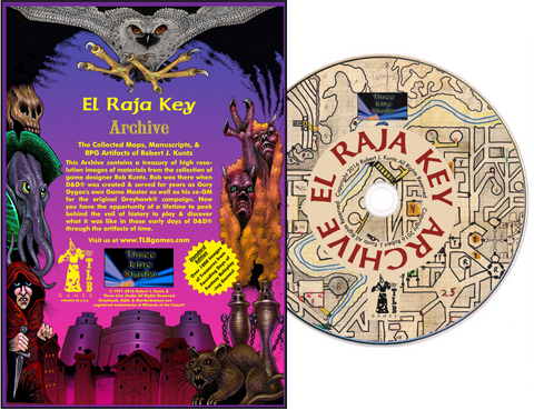 El Raja Key Archive Standard Edition - inc. K1 Sunken City Adventure Module