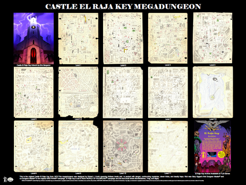 Castle El Raja Key Megadungeon