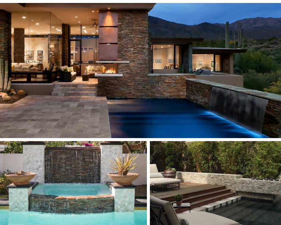 Stacked Stone for Your Pool