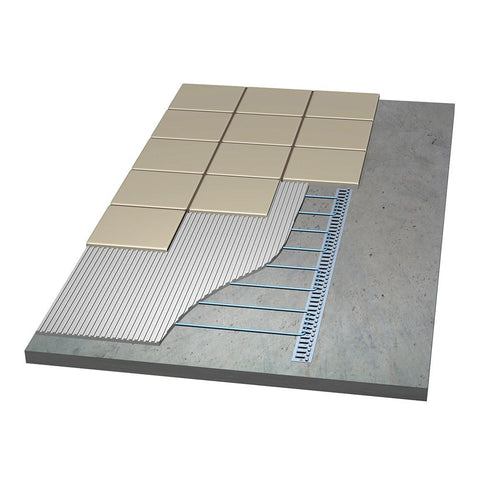 Laticrete Floor Heat Track