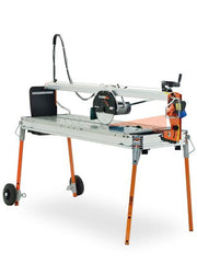 "Battipav 51"" Class Plus Rail Saw With Laser (10"" Blade) - FloorLife"