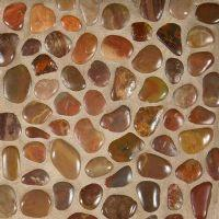 Simply Stone Meshed Pebbles - Polished Red
