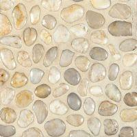 Simply Stone Meshed Pebbles - Polished White