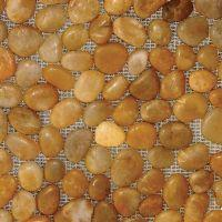 Simply Stone Meshed Pebbles - Polished Yellow