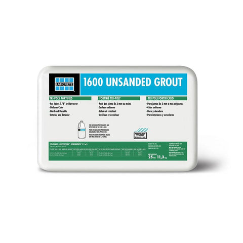 1600 Unsanded Grout - 25 lb.
