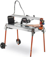 "Battipav 41"" Class Plus Rail Saw With Laser (10"" Blade) - FloorLife"