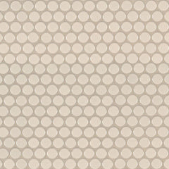 Domino Porcelain Tile Collection Almond Glossy Penny Round Mosaic - MISC