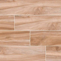 "Aspenwood Porcelain Tile Collection Amber - 9""x48"" - FloorLife"