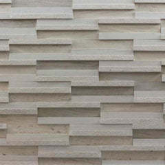 "Realstone Systems Portugal Areia Dimensional Tile 4""x12"""