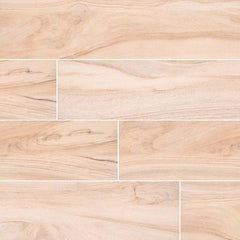 "Aspenwood Porcelain Tile Collection Artic - 9""x48"" - FloorLife"