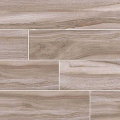 "Aspenwood Porcelain Tile Collection Ash - 9""x48"" - FloorLife"