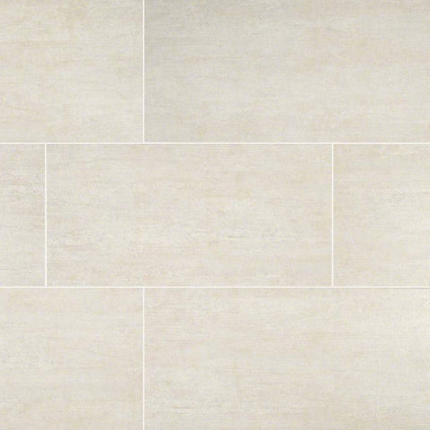 "Metropolis Porcelain Tile Collection Avorio - 3""x12"" Bullnose"