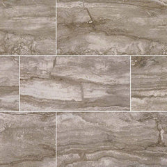 "Pietra Porcelain Tile Collection Bernini Camo - 3""x18"" Bullnose - FloorLife"