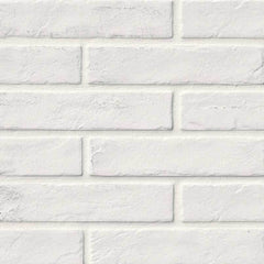 "Brickstone Porcelain Tile Collection White - 2""x10"" - FloorLife"