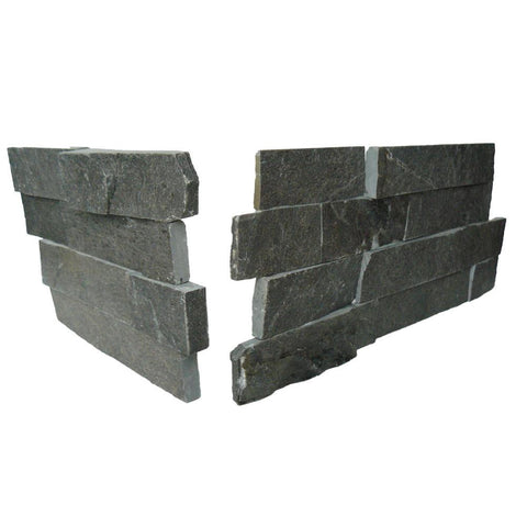 Tier Natural Stone Systems Contemporary - Charcoal Corner