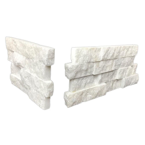 Tier Natural Stone Systems Contemporary - Salt White Corner