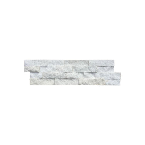 Tier Natural Stone Systems Contemporary - Salt White Panel