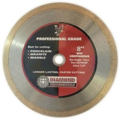 "Platinum Series 8"" Premium Wet Tile Blade"