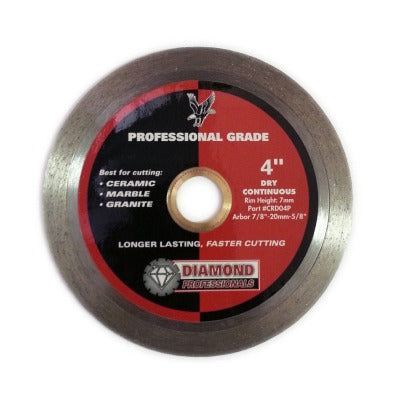 Diamond Professionals Wet/Dry Saw Blades