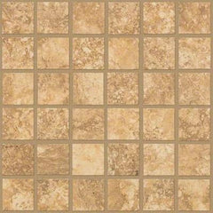 "Shaw Tile Sierra Madre Touchwood Mosaic 13""x13"""