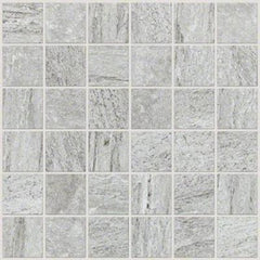 "Shaw Tile Crystal Grey Mosaic 12""x12"""