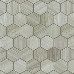 Shaw Tile Chateau Hexagon Rockwood 10x12