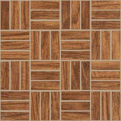 "Shaw Tile Petrified Hickory Ancient Mosaic 12""x12"""