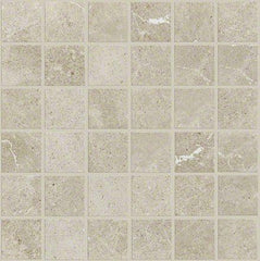 "Shaw Tile Oasis Light Grey Mosaic 13""x13"""