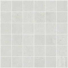 "Shaw Tile Sculpture Mosaic White 12""x12"""