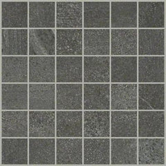"Shaw Tile Sculpture Mosaic Anthracite 12""x12"""