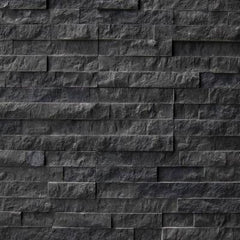 "Realstone Systems Collection Carbon Ledgestone Splitface Panel 6""x24"""