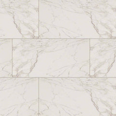 "Pietra Porcelain Collection Carrara - 12""x24"" - FloorLife"