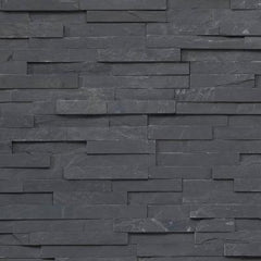 "Realstone Systems Shadowstone Charcoal Natural Panel 6""x24"""
