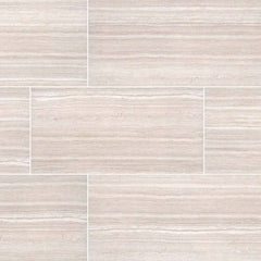 "Essentials Ceramic Tile Collection Charisma White - 3""x18"" - Bull Nose - FloorLife"