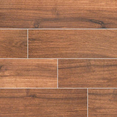 "Palmetto Porcelain Tile Collection Chestnut - 6""x36"" - FloorLife"