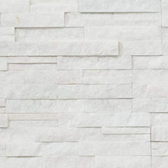 "Realstone Systems Shadowstone Arctic White Natural Panel 6""x24"""