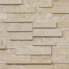 "Realstone Systems Collection Roman Beige Honed Panel 6""x24"""