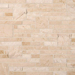 Marble Tile Collection Crema Opus And Splitface Pattern - FloorLife