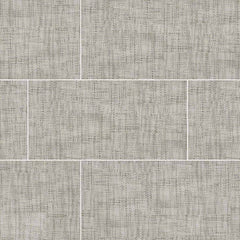 "Tektile Porcelain Tile Collection 12""x24"" - Crosshatch Gray - FloorLife"