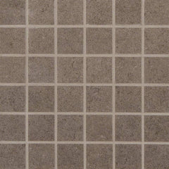 "Dimensions Porcelain Tile Collection Concrete - 2""x2"" Mosaic - FloorLife"