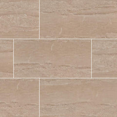 "Pietra Porcelain Tile Collection Dunes Beige - 12""x24"" - FloorLife"