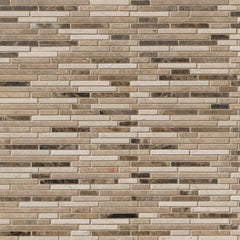 Marble Tile Collection Emperador Dark Bamboo Pattern - FloorLife