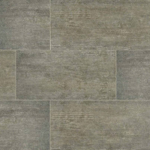 "Metropolis Porcelain Tile Collection Grey - 3""x12"" Bullnose"